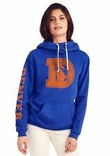 Denver Broncos Women's Cowl Neck Hooded Sweatshirt