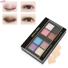 RIHAO Professional Woman Makeup 8 Colors Eyeshadow Palette With Blush Palette BE