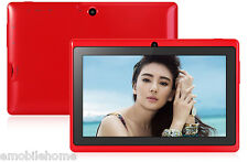 7'' Q88H Android4.4 Tablet PC WVGA Screen A33 Quad Core 1.3GHz 512MB+8GB WiFi BT