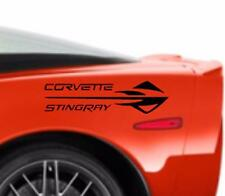 NEW CORVETTE STINGRAY C6 Emblem Decal Graphics Sticker Fits Chevrolet Corvette
