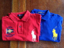 NWT Polo Ralph Lauren Big Pony Yacht Club Shirt Size L Large men Custom Fit Gift