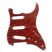Electric Guitar Pickguard Scratch Plate For Fender Stratocaster Strat Parts SSS