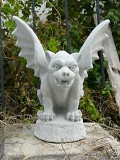 GARGOYLE CONCRETE STATUE GARDEN VINTAGE GUARDIAN WINGED DRAGON GOTHIC GUARDIAN