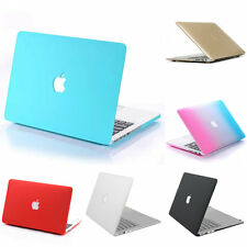 Slim Rubberized Hard Shell Protector Skin Case Cover For Macbook Air Pro Retina