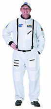 NASA Astronaut White Space Suit Adult Mens Costume Fancy Dress Up Outfit,
