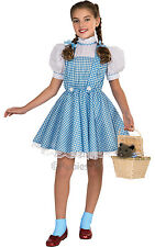 Wizard Of Oz Dorothy Child Sequin Fancy Dress Licensed Costume Book Week Kids