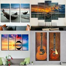 Modern Hand-painted Art Oil Painting Scenery Canvas Unframed Decor