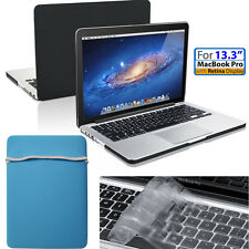 """Carrying Sleeve Bag For Macbook Pro 13"""" Air 11"""" &Matte Hard Case &Keyboard Cover"""