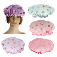 Women Lady Elastic Bath Shower Cap Bathing Hat Caps Shampoo Showercap Hair Hats
