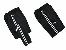 TRACKSUIT BOTTOMS MEN'S FASHION TROUSERS RUNNING JOGGING GYM FLEECE SWEAT PANTS