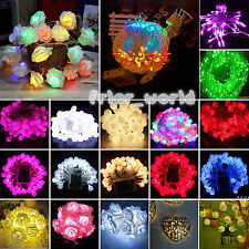Battery Operated Christmas Halloween Fairy String Light Wedding Party Decoration