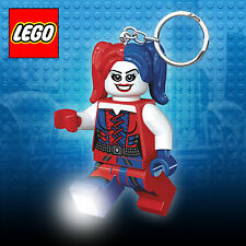 Lego Harley Quin Keyring Torch - Suicide Squad, DC Comics, Batman, keylight, LED