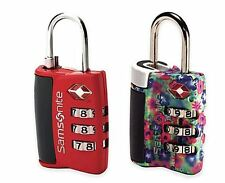 Samsonite Travel Sentry 3 Dial Combination Lock Secure Luggage Combo Mechanism