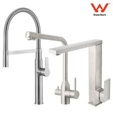 WELS Basin Pull Out Shower Mixer Tap Spout Kitchen Laundry Sink Faucet Chrome
