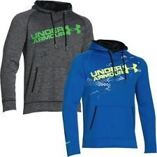 2016 Under Armour Storm Armour® Graphic Training Fleece Hoody Mens Sports Hoodie
