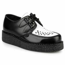 Underground Wulfrun Black White Mens Shoes