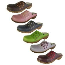 El Naturalista Womens N105 Iggdrasil Clog Shoes