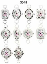 Wholesale Lot of Breast Cancer Classic Beading Watch Faces w/Loops USA Seller