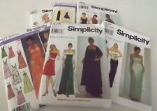 Ladies Evening or Casual Dresses Simplicity Sewing Patterns Select a pattern UC