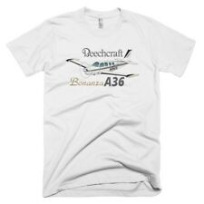 Beechcraft Bonanza A36 Custom Airplane T-shirt - Personalized with Your N#