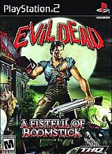 Evil Dead: A Fistful of Boomstick (Sony PlayStation 2, 2003)  COMPLETE