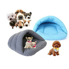 Puppy Pet Cat Dog Nest Bed Puppy Soft Warm Sleeping Bag Mat Pad Cave House JMHG