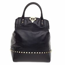 Valentino Rockstud New Dome Convertible Bucket Leather
