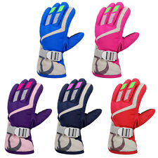 Children Kids Boy&Girls Winter Gloves Warm Ski Skiing Snowboard Resistance Water