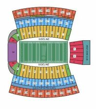 2 CLEMSON TIGERS VS SOUTH CAROLINA GAMECOCKS FOOTBAL Lower North Stands 45 yd