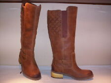 High boots al knee Timberland woman leather brown waterproof 36 37 39 40