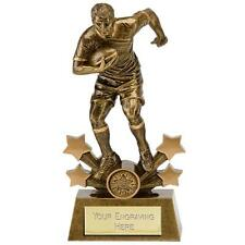 "RUGBY Player Trophy 6""or 7"" or 8"" or 9"" FREE ENGRAVING Personalised Award New"