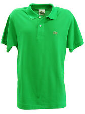 Lacoste Mens 100% Cotton Classic Short Sleeve Polo L1212-51 Chlorophylle Green