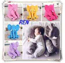 Fashion Baby Long Nose Elephant Doll Soft Plush Stuff  Lumbar Cushion Pillow Toy