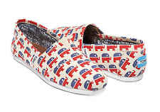 TOMS Womens Classic REPUBLICAN ELEPHANTS Canvas Slip on Shoes Trump MANY SIZES