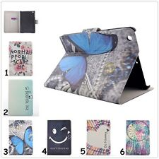 New Present For iPad Samsung Kindle Wallet Leather Flip Smart Case Cover Stand
