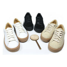 Mens Flat Casual Lace Up Skateboard Trainers Sneakers Walking Athletic Shoes New