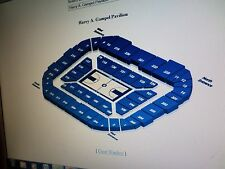 2 Chair Back Seats for Uconn Women vs SMU 2/11