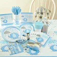 Boy Baby Shower Party Supplies/Baby Shower Decorations/ Invitations, Tableware