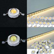 100Pcs/lot Full Watt 1W High Power LED lamp Beads 110-120LM LEDs Bulb light