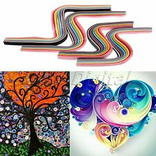 5mm/12mm Width 180 Strips Paper Quilling 36 Colors Origami Paper DIY Hand Craft
