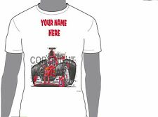 KOOLART FORMULA 1 FERRARI BAROCELLO ANY NAME T-SHIRT GIFT PRESENT CAR MOTOR 1070