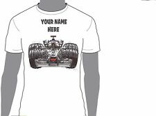 KOOLART FORMULA 1 KIMI RAIKKONEN  ANY NAME T-SHIRT GIFT PRESENT CAR MOTOR 1923