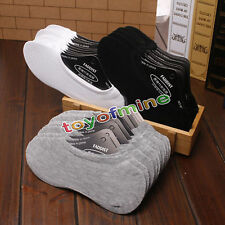 12 Pairs women/Men Cotton Loafer Boat Non-Slip Invisible Low Cut No Show Socks