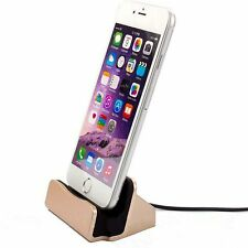 Charger Docking Station Cradle Sync Dock Cable Stand for iPhone 5 5S 5C 6Plus 6S