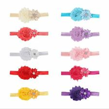 Kids Infant Babys Girls Princess Flower Headband Hair Band Headwear Accessories