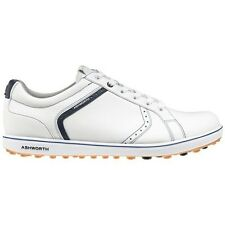 NEW MEN'S ASHWORTH CARDIFF ADC 2 GOLF SHOES WHITE/BLUE G54321 - PICK YOUR SIZE