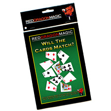 Will The Cards Match - Simple Magic Trick - Bicycle Card Stock
