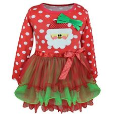 Newborn Baby Boys Girls Christmas Costume Claus Santa Tutu Dress Outfits Clothes