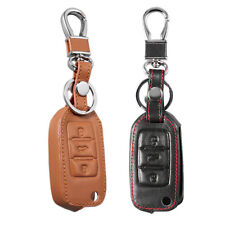 Leather Car Key Holder Vehicle Keys Organizer Bag For Volkswagen A Style BE