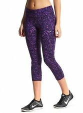NWT Nike Women's Lotus Epic Run Printed Running Capris - Animal Print -  MSRP$80